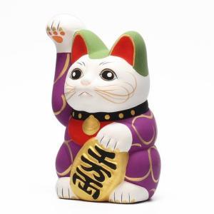 KARAKUSA MANEKI NEKO PURPLE (唐草 招き猫 パープル 紫唐草) flyers 04