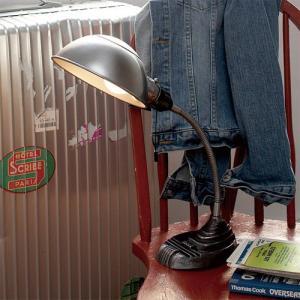 OLD SCHOOL POLISH DESK LAMP (オールド スクール ポリッシュ デスク ランプ) AW-0329 【送料無料】 【ポイント5倍】|flyers