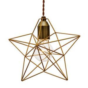 BLEIS(L) STAR PENDANT LIGHT (ブレイスL スター ペンダント ライト) LT-1091/3 【送料無料】 【ポイント5倍】|flyers