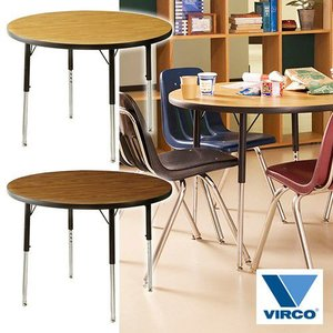 VIRCO 4000 TABLE ROUND S (バルコ 4000 テーブル ラウンド S) 【送料無料】 【ポイント10倍】 【AWS】 flyers