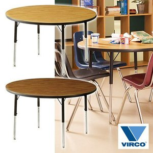 VIRCO 4000 TABLE ROUND M (バルコ 4000 テーブル ラウンド M) 【送料無料】 【ポイント10倍】 【AWS】 flyers