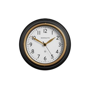 NEW GATE THE COOKHOUSE2(S) WALL CLOCK BK (ニューゲート ザクックハウス2 ウォール クロック ブラック) TR-4316BK 【送料無料】 【ポイント10倍】 【AWS】|flyers