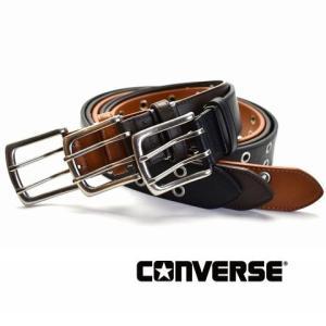 コンバースベルト メンズ ビジネス 牛革 合成皮革 CV1704ブラック/ダークブラウン/ブラウン|flyingbluenet