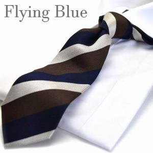 ネクタイ【FLYING BLUE】シルク(90%)/ウール(10%) flb-59|flyingbluenet