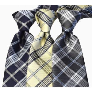 【MICHIKO LONDON】ネクタイ 日本製 チェック m-32