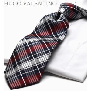 ネクタイ HUGO VALENTINO TYPE-37...