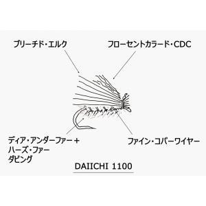 CDCエルクヘア・カディス(完成品フライ)|flymart|02