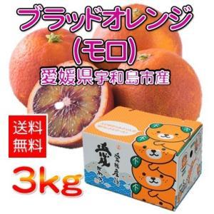 モロ(ブラッドオレンジ) 3kg 愛媛県産 宇和島市 吉田町 規格外 サイズ無選別 送料無料 (M2)|fmarushe535