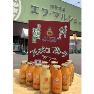 峰ちゃん農園 柑橘ジュース 10本セット | 0031 : 柑橘ジュース・愛媛県産|fmarushe535