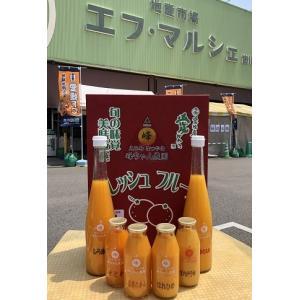 峰ちゃん農園 柑橘ジュース 6本セット | 0032 : 柑橘ジュース・愛媛県産|fmarushe535