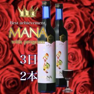 酵素 ドリンク ダイエット マナ MANA酵素 500ml×2本 デトックス 3日ファスティングセット ファスティング 飲料 断食|fmft