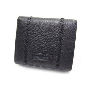 財布 山本寛斎 ヤマモトカンサイ soft折財布 BOX型小銭入れ MJ4501ブラック|fnetscom