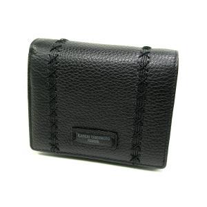 財布 山本寛斎 ヤマモトカンサイ soft折財布MJ4502ブラック|fnetscom