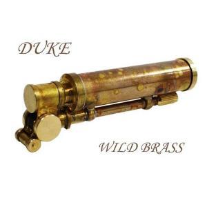 デューク 日本製オイルライターDUKE3ワイルドブラス|fnetscom