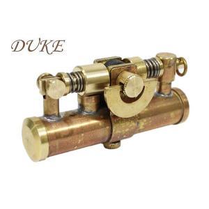 日本製オイルライター DUKE デュークIV ワイルドブラス|fnetscom