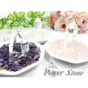 パワーストーン 浄化セット 天然石 選べるさざれ 水晶ポイント 八角形型 素焼き 浄化皿 白 浄化アイテム|fnetscom