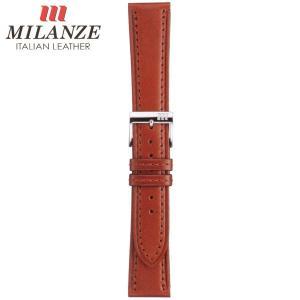 時計バンド 時計ベルト ミランツェ MILANZE 紳士用 カーフ CM 茶 時計際幅20mm 美錠幅16mm 商品コード3460 2|fnetscom