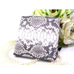 財布 SANTA MARIA パイソン無双 二つ折り財布 折財布 ナチュラル T3298-PY08-1|fnetscom