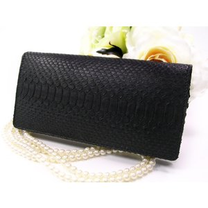 送料無料 蛇革財布 ダイヤモンドパイソン 長財布 無双 つや消し ブラック 本革 開運アイテム|fnetscom