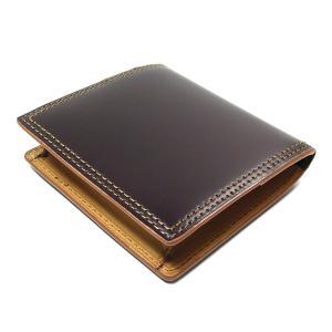 財布 メンズ コードバン 小銭入れチョコ CO-5|fnetscom