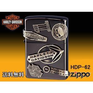 zippo ライター ジッポー HARLEY-DAVIDSON ハーレーダビットソン メイクメタル HDP-62|fnetscom
