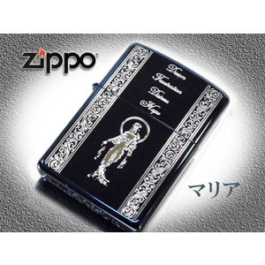 zippo ライター ジッポー レギュラー  ZP スピリッツ オブ ブルー 聖母マリア NO200|fnetscom