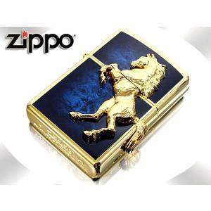 zippo ジッポー ライター ウイニングウィニー 金×アトランティックブルー ゆうメール発送不可|fnetscom