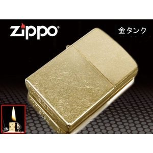 zippo ジッポー ライター レギュラー ゴールドダスト 207G 金タンク|fnetscom