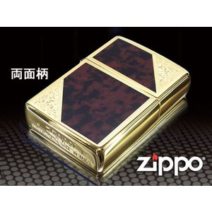 zippo ジッポー ライター レギュラー ベネチアンデザイン 両面加工 2GW-BM|fnetscom