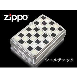 zippo ジッポー ライター レギュラー Shell Check シェルチェックBK ブラック 特別価格品|fnetscom