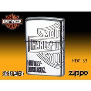 zippo ジッポー ライター HARLEY-DAVIDSON ハーレーダビットソン HDP-33|fnetscom