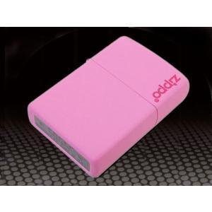 zippo ジッポー ライター ロゴ入り マットシリーズ ピンク 238ZL|fnetscom