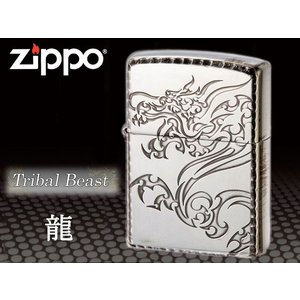 zippo ジッポー ライター レギュラー トライバルビースト TBS リュウ龍 特別価格品|fnetscom