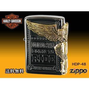 zippoライター ジッポー HARLEY-DAVIDSON ハーレーダビットソン HDP-48|fnetscom