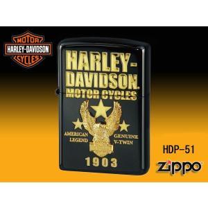 zippoライター ジッポー HARLEY-DAVIDSON ハーレーダビットソン HDP-51|fnetscom