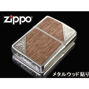 zippo ジッポー ライター レギュラー ウェスタンシリーズ 2SW-WOOD シルバー 木|fnetscom