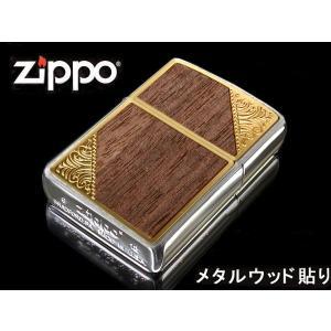 zippo ジッポー ライター レギュラー ウェスタンシリーズ 2GW-WOOD ゴールド 木|fnetscom