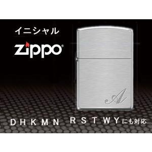 zippoライター ジッポー レギュラー イニシャル initial シンプル|fnetscom