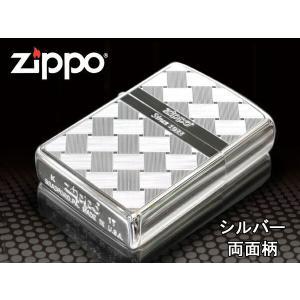zippo ジッポー ライター レギュラー Tsumugi つむぎ 2S-MESH 銀 シルバー|fnetscom