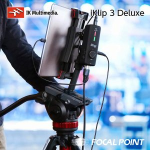 IK Multimedia iKlip 3 Deluxe マイク&カメラスタンドマウントセット 送料無料|focalpoint|13