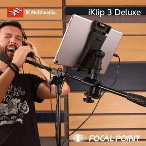 IK Multimedia iKlip 3 Deluxe マイク&カメラスタンドマウントセット 送料無料|focalpoint|07