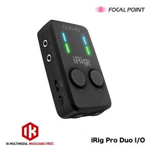 インターフェース IK Multimedia iRig Pro Duo I/O