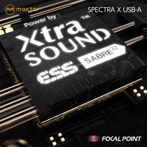 Maktar Spectra X USB-A 世界最小クラス ポータブルヘッドホンDACアンプ 送料無料|focalpoint|06