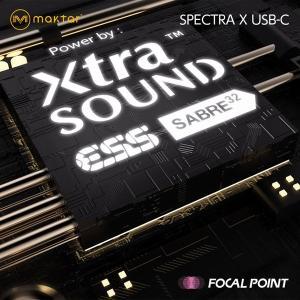 Maktar Spectra X USB-C 世界最小クラス ポータブルヘッドホンDACアンプ 送料無料|focalpoint|06