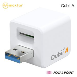 Maktar Qubii A Androidバックアップ PC不要 ストレージ カードリーダー ライター 正規代理店 全2種|focalpoint