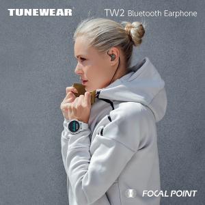 ワイヤレスイヤホン TUNEWEAR TW2 WIRELESS EARPHONES Bluetooth 15時間|focalpoint|05