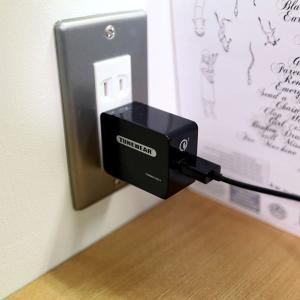 ACアダプター TUNEMAX QC3-1 USB電源アダプタ 急速充電 Qualcomm認証 focalpoint 06