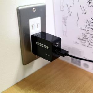 ACアダプター TUNEMAX QC3-1 USB電源アダプタ 急速充電 Qualcomm認証 focalpoint 08