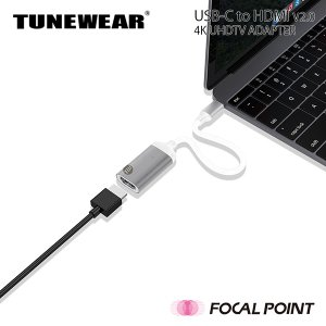 TUNEWEAR USB-C to HDMI v2.0 4K UHDTV 変換アダプタ 19g 全2種|focalpoint|06