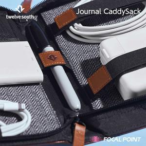 Twelve South Journal CaddySack ガジェット収納 本革製ポーチ 送料無料|focalpoint|05